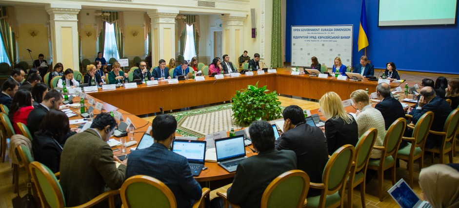 Ukraine has become a meeting spot for reformers from 10 countries of Eurasia for the first time