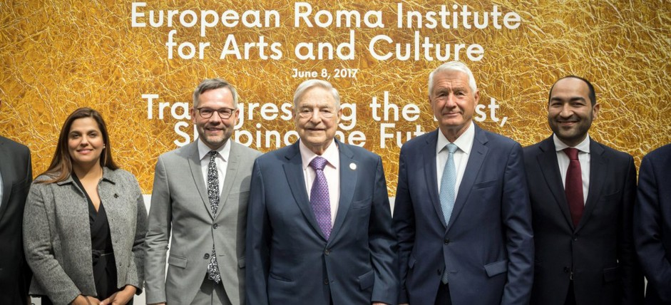 George Soros: «The launch of the European Roma Institute for Art and Culture will help to change the attitude to the Roma»